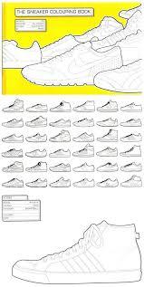 Jordan Sneaker Coloring Book The Colouring Pdf Online