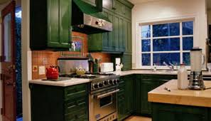 Exellent Rustic Green Kitchen Cabinets Distressed Kitchenvery