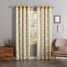 Tahari Home Curtains Yellow by Orange Curtains U0026 Drapes For Less Overstock Com