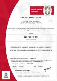 bureau veritas fr iso 9001 2015 certification granted to lubodry productions