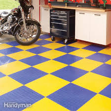 garage flooring options family handyman