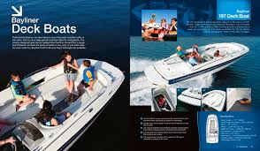 Bayliner 190 Deck Boat by Bayliner Deckboats Bayliner Pdf Catalogues Documentation