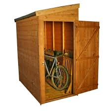 6 X 6 Wood Storage Shed by 3 U00274