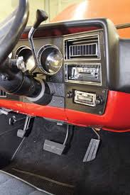 100 Truck Stereo This Angle Shows How Nice The Dash Bezel Dash Cover AMFM Stereo