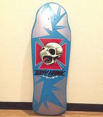 Tony Hawk Reissue Skate Deck by 1980s Vintage Powell Peralta