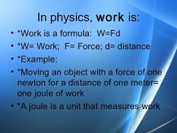 Physical Science Work