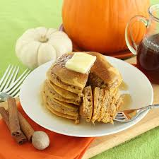 Pumpkin Pancakes W Bisquick by Love And Confections Pumpkin Pancakes With Bourbon Maple Syrup