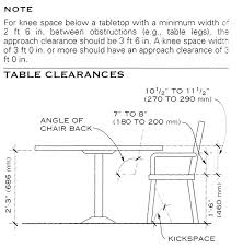 Height Of Dining Room Table Stunning Decor Standard Artistic 11