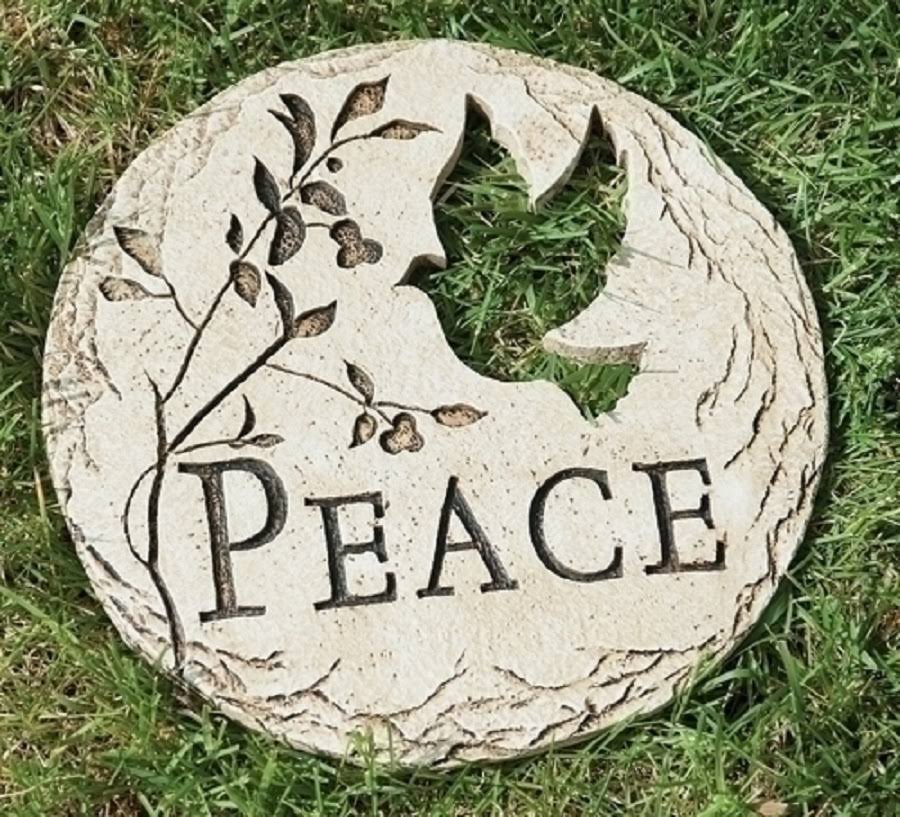 Peace Garden Stepping Stone