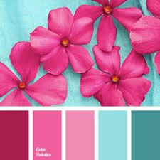 great collection of contrasting palettes with different shades