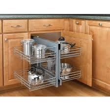 rev a shelf kitchen blind corner cabinet optimizer maximizes