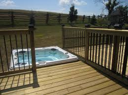 Outdoor , Backyard Deck Designs With Hot Tub Ideas : Simple Hot ... Hot Tub On Deck Ideas Best Uerground And L Shaped Support Backyard Design Privacy Deck Pergola Now I Just Need Someone To Bulid It For Me 63 Secrets Of Pro Installers Designers How Install A Howtos Diy Excellent With On Bedroom Decks With Tubs The Outstanding Home Homesfeed Hot Tub Pool Patios Pinterest 25 Small Pool Ideas Pools Bathroom Back Yard Wooden Curved Bench