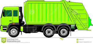 Truck For Trash Stock Vector. Illustration Of Utility - 23402110