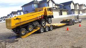 100 Big Truck Adventures 3 RC ADVENTURES Chrome Tamiya King Hauler Pulls 8x8 Tipper