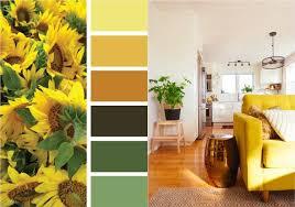 ocker und grasgrün im wohnzimmer kombinieren wandfarbe