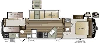 2008 Montana 5th Wheel Floor Plans by Cougar Half Ton