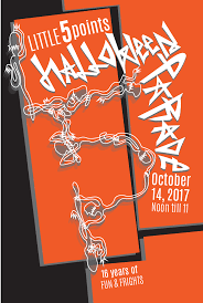 Five Points Halloween In Five by Little Five Points Halloween Parade On Behance