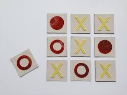 Use Up Some Of Your Fabric Scraps And Make A Cool DIY Tic Tac Toe Board