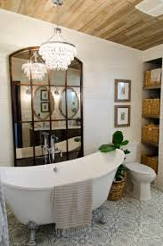 Ceiling Materials For Bathroom by 10 Gorgeous Farmhouse Bathroom Renovations Home Stories A To Z