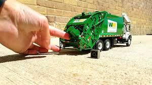 First Gear Refuse Trucks: Mini Garbage Day! - YouTube