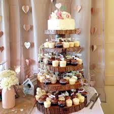 Rustic Cupcake Tower Cake By Annie Cakebyannie