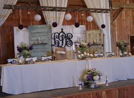 Used Rustic Wedding Decor Beautiful Ideas Old Doors As Backdrop Also Love The
