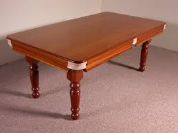 Dining Room Pool Table Combo by Snooker Dining Tables