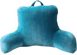 Home Decor Alluring Backrest Pillow With Arms For Living Room