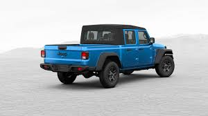 100 4 Door Jeep Truck 2020 Gladiator Pickup Configurator Is Live See All The