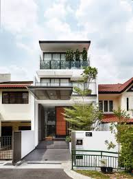 100 Terrace House In Singapore Ordinary Is Transformed Into A Stylish
