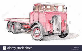 1930s Flatbed Lorry Truck Stock Vector Art & Illustration, Vector ...
