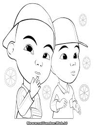 Colouring Pages Upin Ipin Free Coloring Pages Of Upin And Ipin