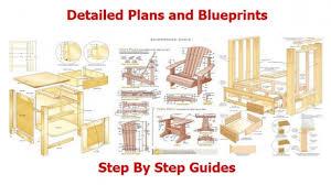 furniture patterns woodworking plans diy free download plywood