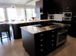 cuisine grise et plan de travail noir cuisine cuisine grise plan de travail noir idees de style