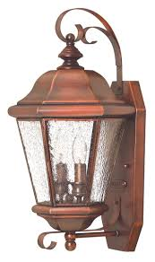 copper outdoor wall sconce light wall sconces