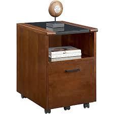 whalen sorano 1 drawer mobile pedestal file cherry letter legal