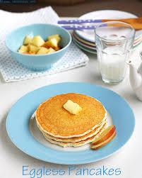 eggless pancake recipe soft fluffy
