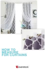 Material For Curtains Calculator by 4 Easy Steps To Measuring For Curtains Overstock Com