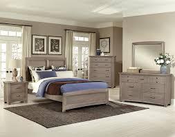 bedroom vaughan bassett reflections ebony queen sleigh bed with