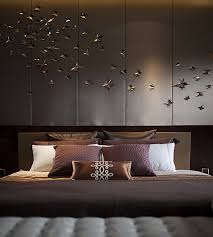Romantic Brown Color Of Bedroom Decoration