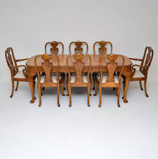 Antique Queen Anne Style Burr Walnut Dining Table & Chairs ... Gent Fully Upholstered Ding Chair Sinequanon American Walnut Oiled Antique Brass Regency Tables Mahogany Walnut Pedestal Tables Two Leaf Wind Out Table And 6 Chairs Burr Queen Anne Eight Covers Room Set White Farmers Outdoor Wonderful Argos Six Antiques Atlas Amazoncom Pauline 3pc With 2 F2208 Counter Height By Poundex Bespoke Reproduction Fniture Suffolk Uk World Awesome Grey Velvet Small