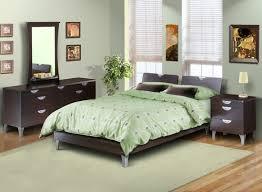 chambre à coucher couleur peinture chambre adulte deco vert clair