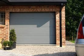 porte de garage sectionnelle classique grise jpg