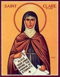 clare of assisi incorrupt saints saints