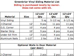 greenbriar 12x16 vinyl prep garage kit by best barns