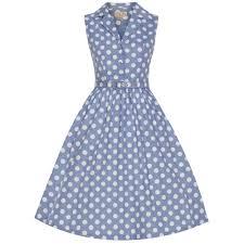 matilda u0027 blue polka dot shirt dress polka dot shirt blue polka