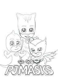Coloring Pages For Pj Masks New 105 Romeo