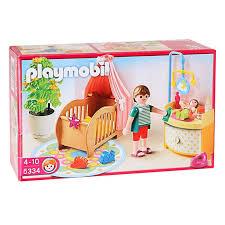 playmobil chambre bébé playmobil 5334 chambre de bébé avec berceau achat vente