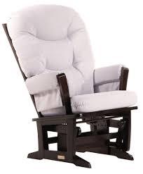 Rocking Chair: Glider Rocking Chair Cushion Padded Arms ...