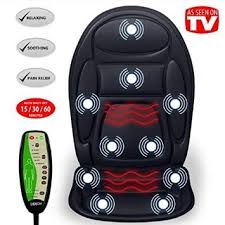 Massage Pads For Chairs by Amazon Com Gideon U0026 8482 Seat Cushion Vibrating Massager For Back